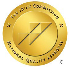 The Joint Commission National Quality Approval Badge